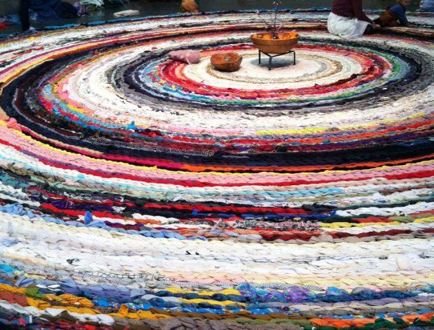 Fritz Haeg's Domestic Integrities rug